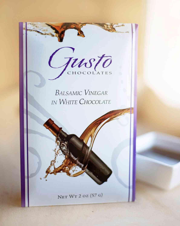 Balsamic Vinegar White Choclate