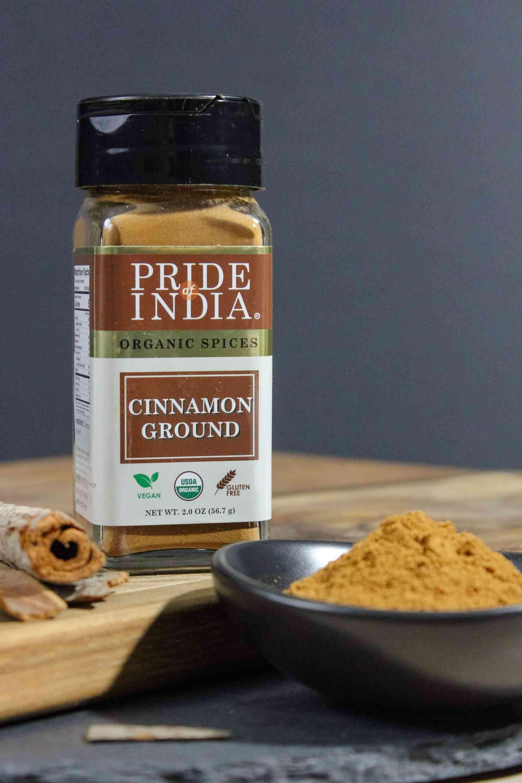 Organic Cinnamon Ground - Gluten Free