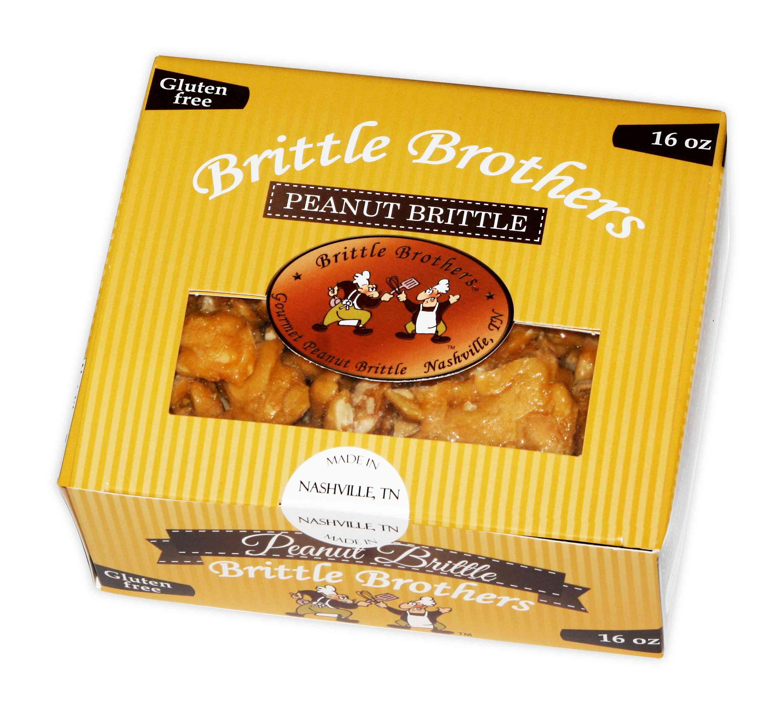 Gourmet Peanut Brittle - Lightly Coated In Sweet
