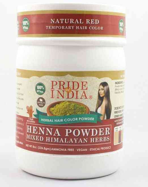 Herbal Henna Hair Color Powder W/ Gloves