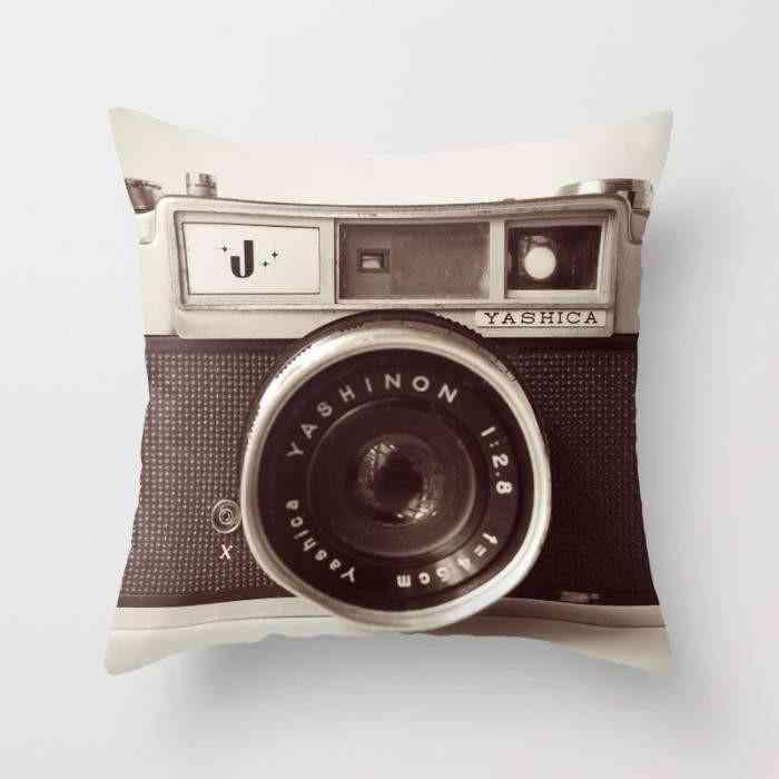 Camera Cushion Pillow