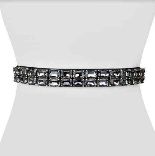 Rectangle Jewel Belt