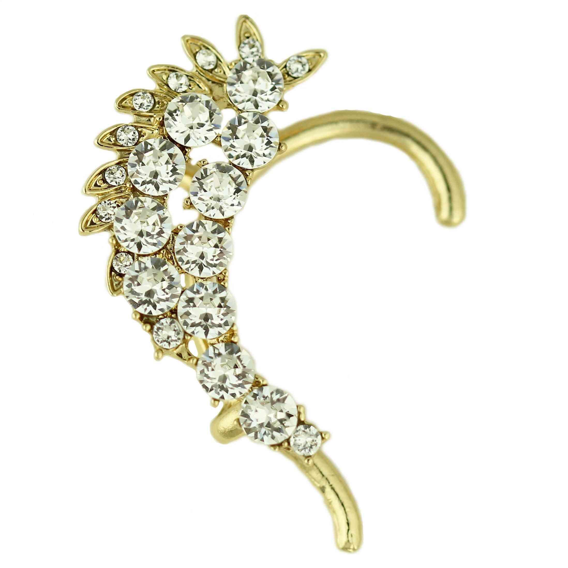 Swarovski Crystals  Ear Cuff