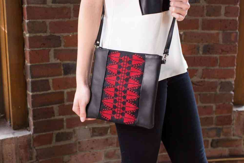 The Red Cypress Crossbody Bag