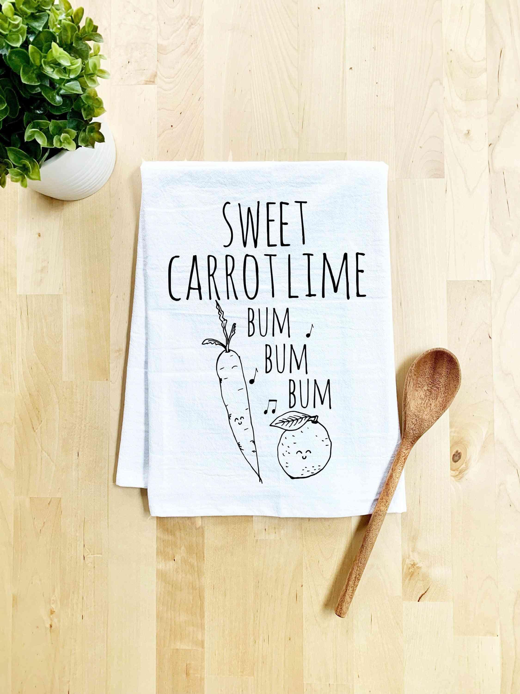 Sweet Carrot Lime Dish Towel
