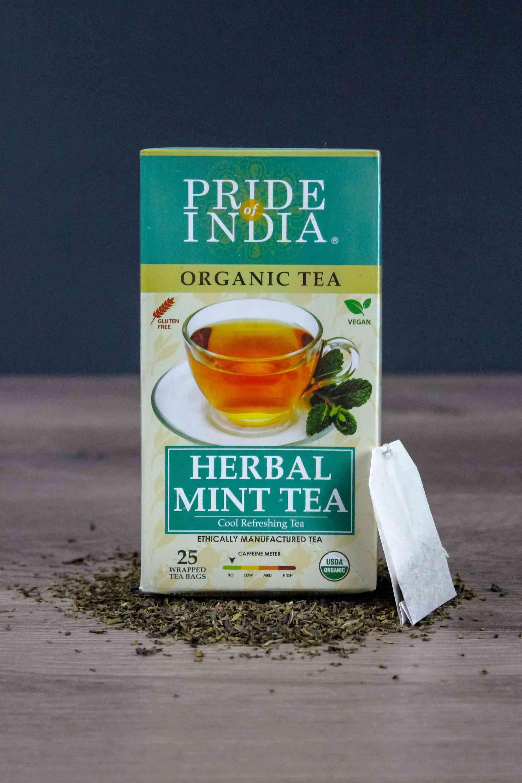 Organic Herbal Mint Tea Bags