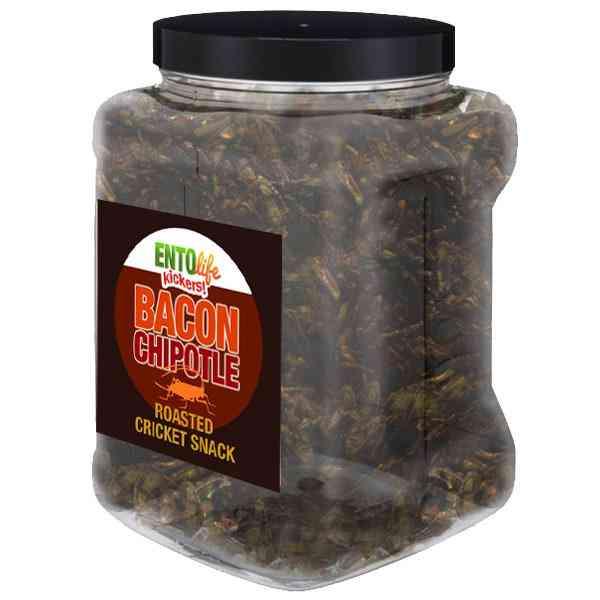 Bacon Chipotle Flavored Cricket Snack