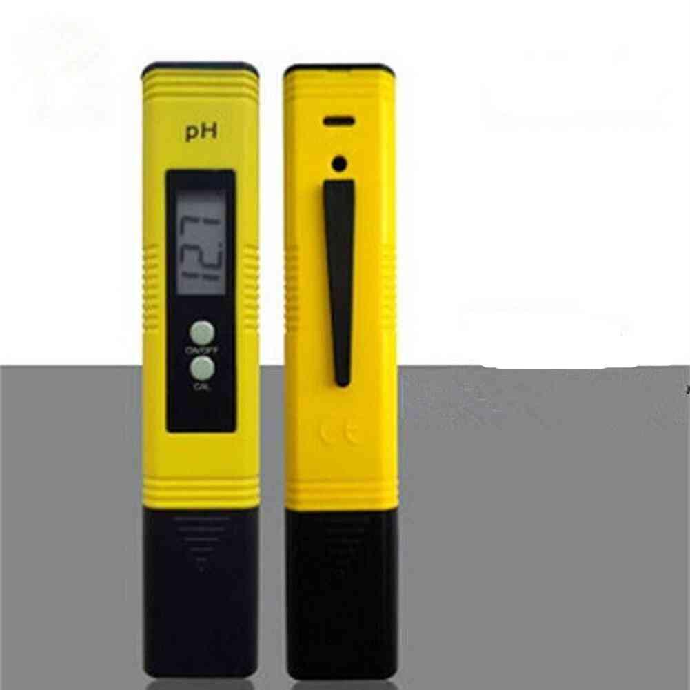 Lcd Ph Meter Digital Pen Accuracy 0.1 Ph Tester Aquarium Pool Water