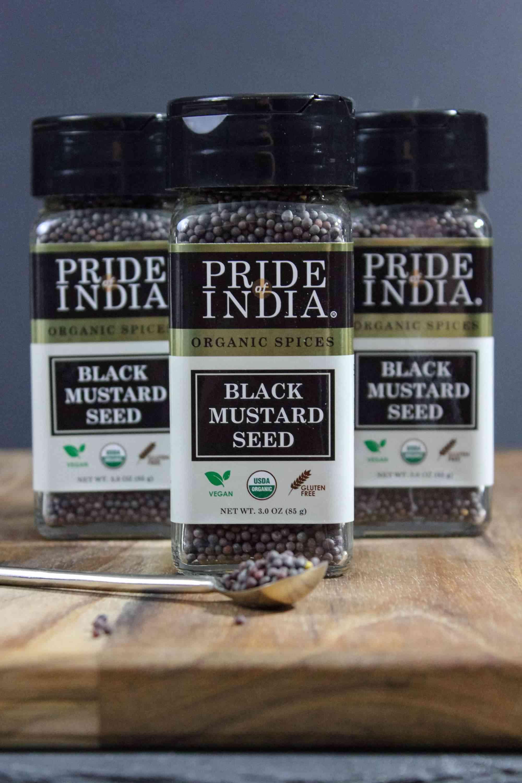 Organic Black Mustard Seed Whole