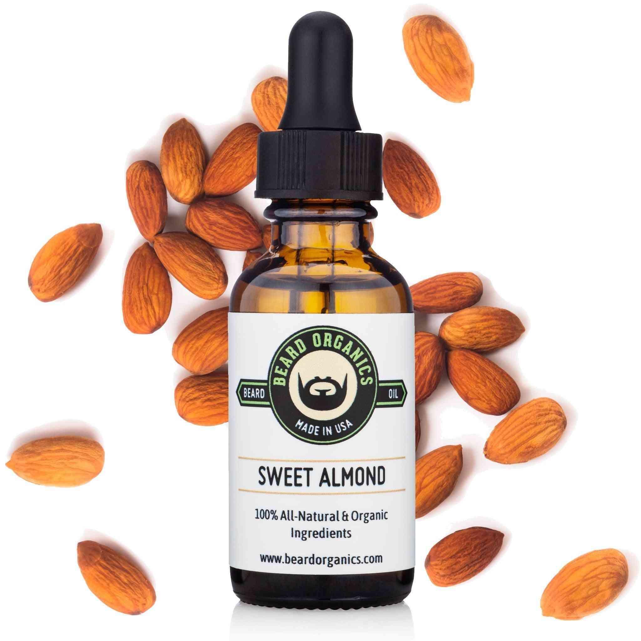 Sweet Almond Beard Oil