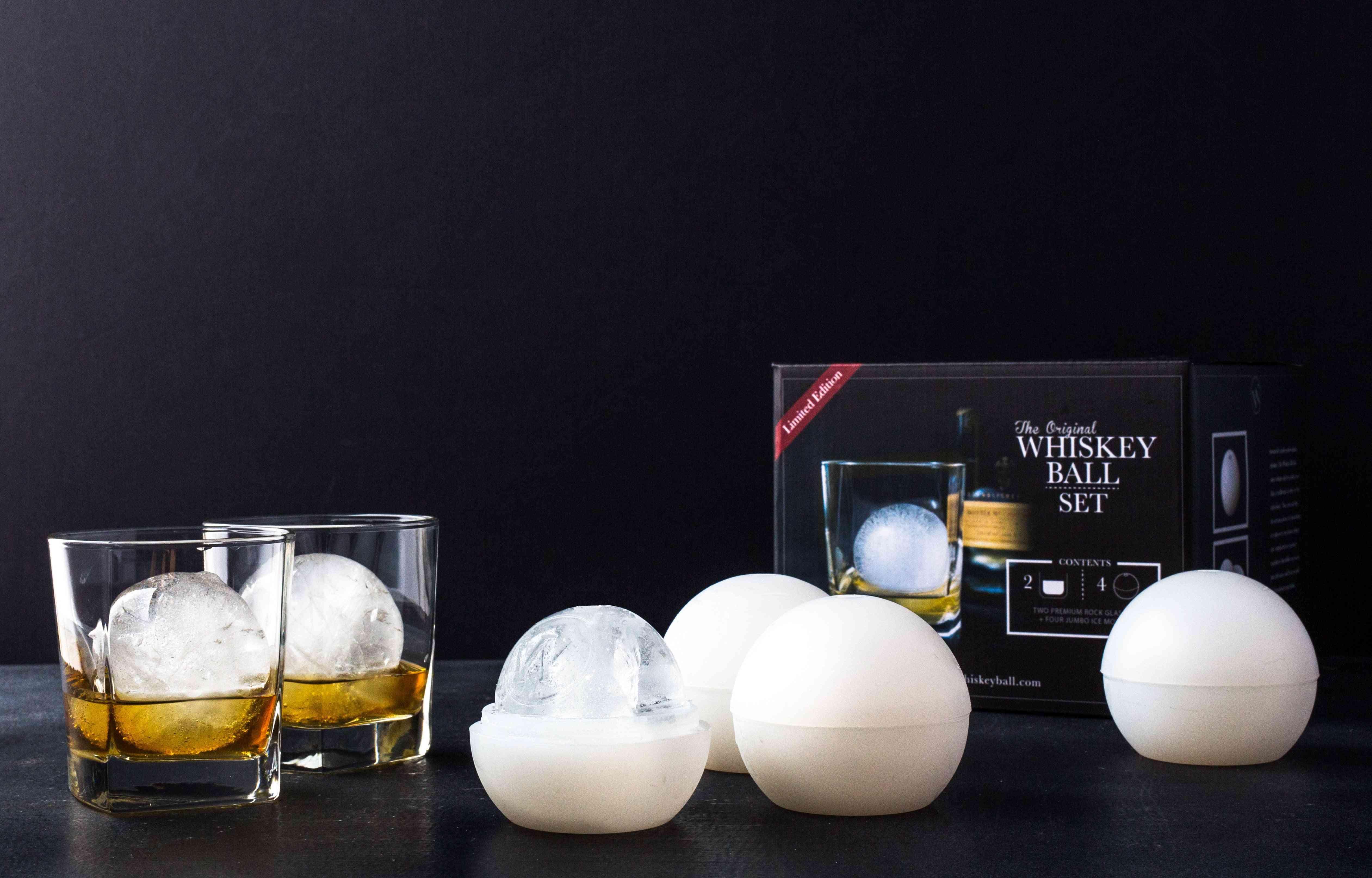 Whiskey Ball Ice Tray Set