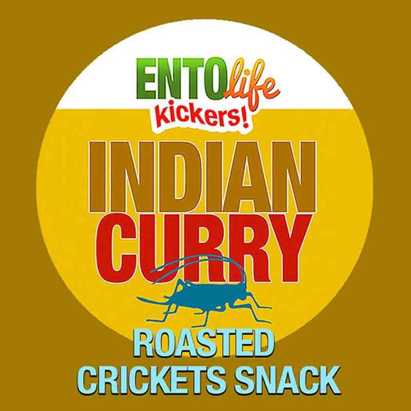 Mini Curry Flavored Cricket Snack
