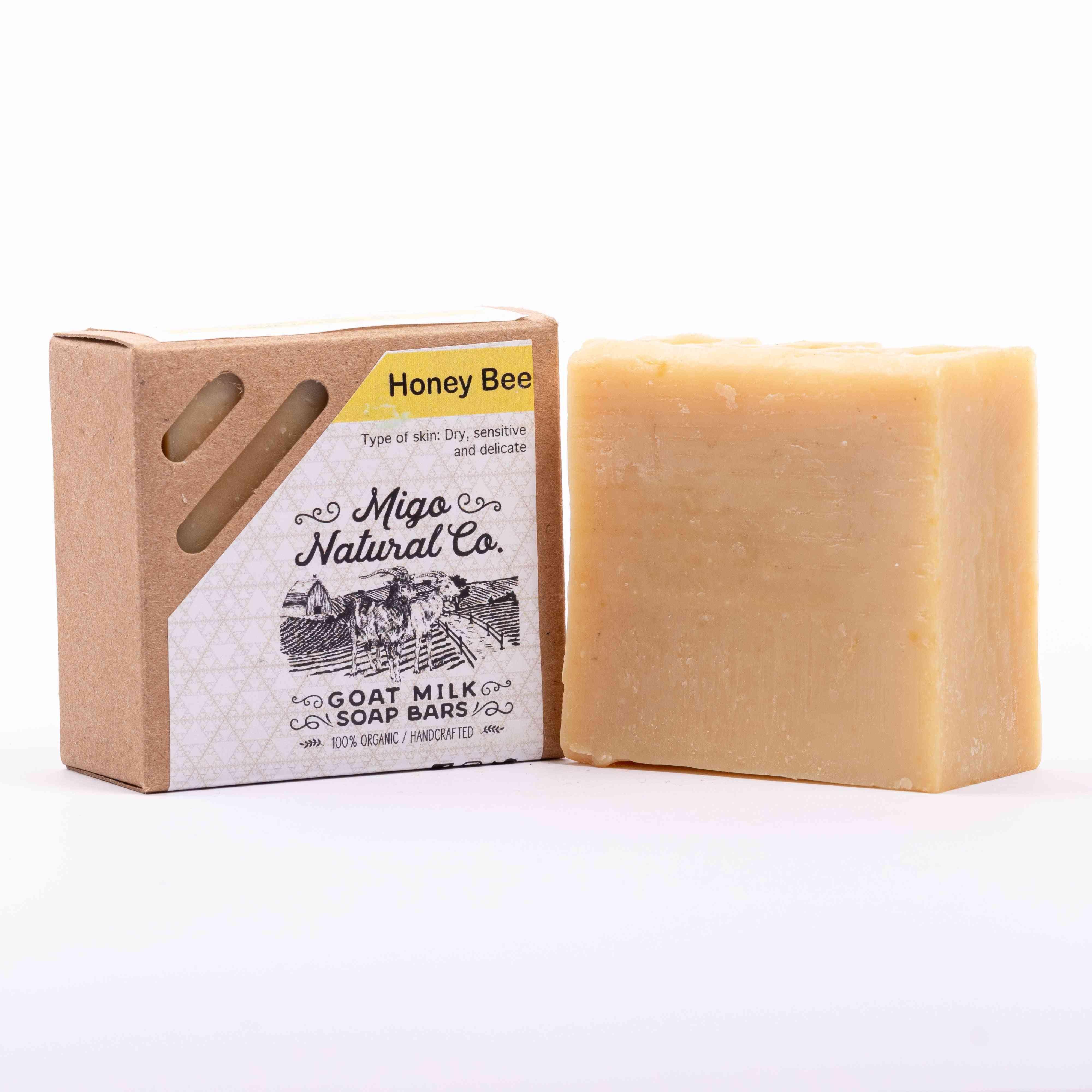 Honey Bee Goat Milk  Soap
