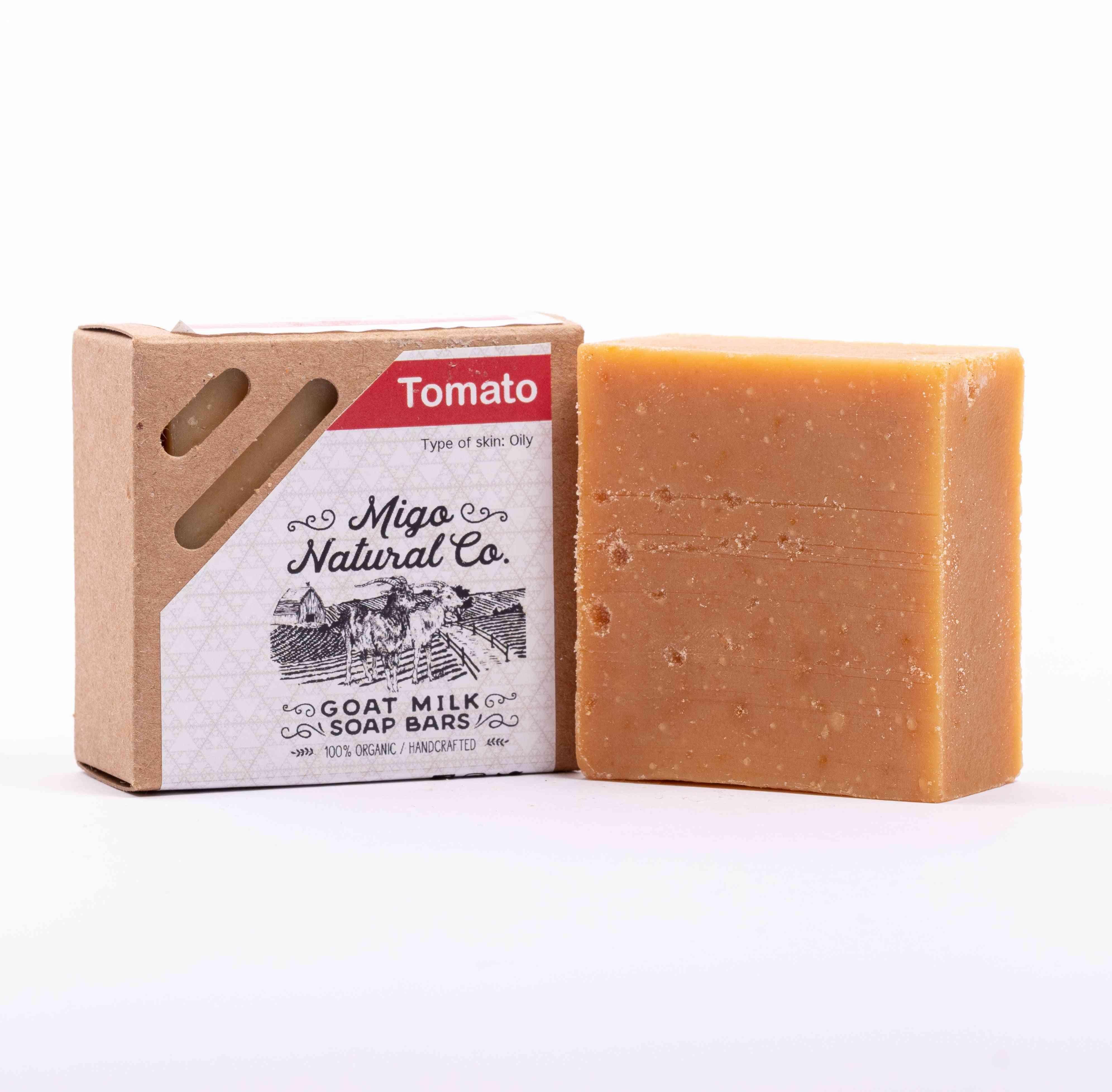 Tomato Goat Milk Soap