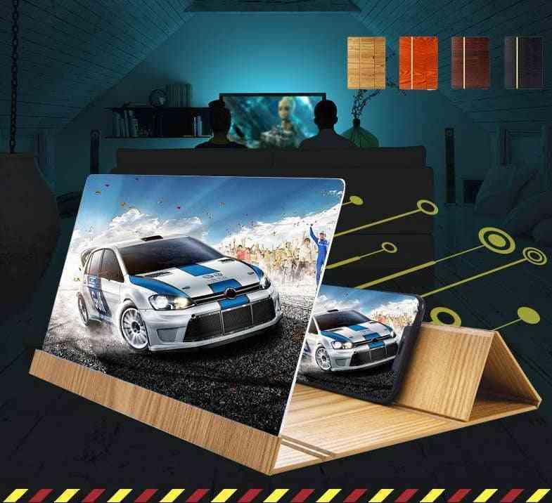 3d Phone Screen Magnifier-folding Design