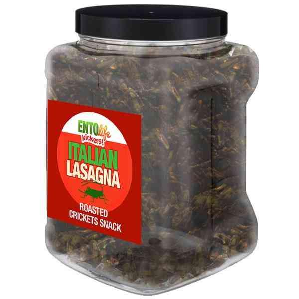 Lasagna Flavored Cricket Snack