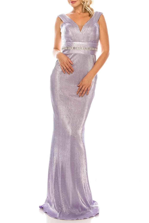 Sleeveless Sheath Evening Gown