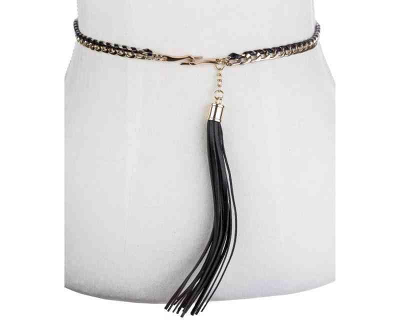 Woven Tassel Belt