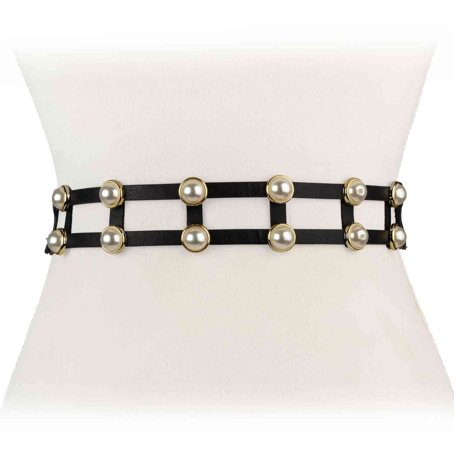 Double Pearl Stretch Belt