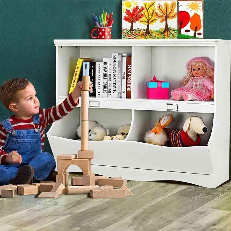 Two Layer Storage Rack For Toy Organizer