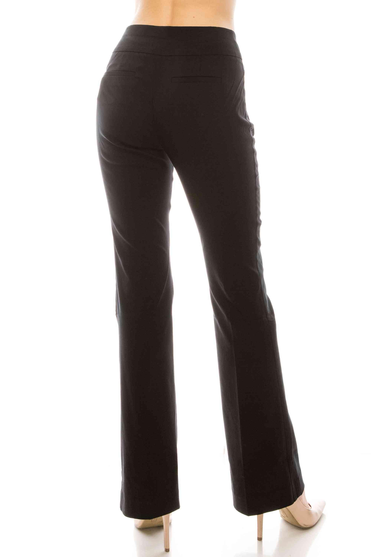 Midrise Bootcut Dress Pants