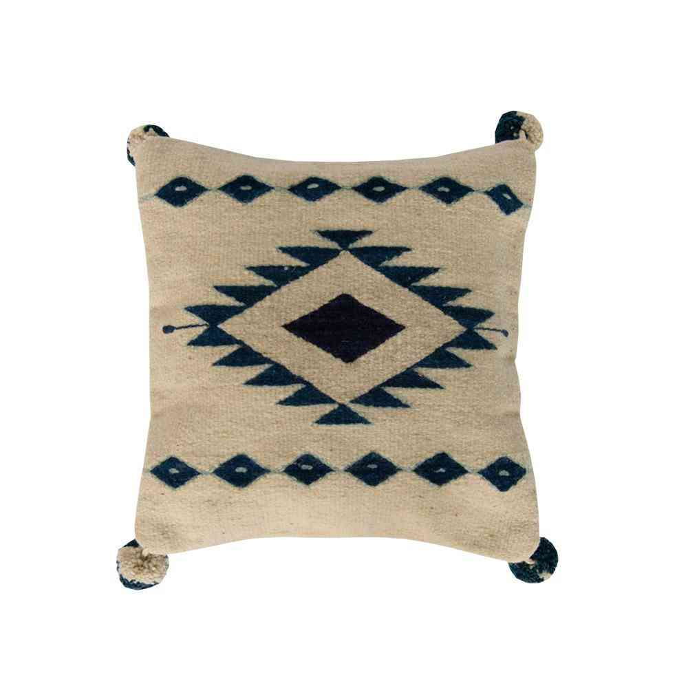 Unique Accent Geometric Design Pillow