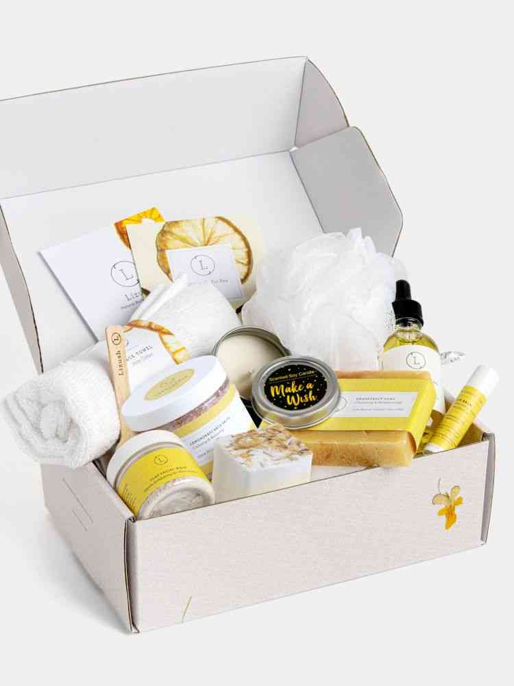Natural Bath And Body Set - 9 Products