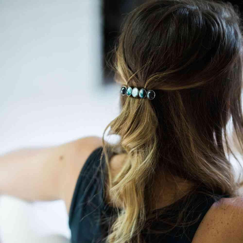 Moon Phase Hair Clip Barrette