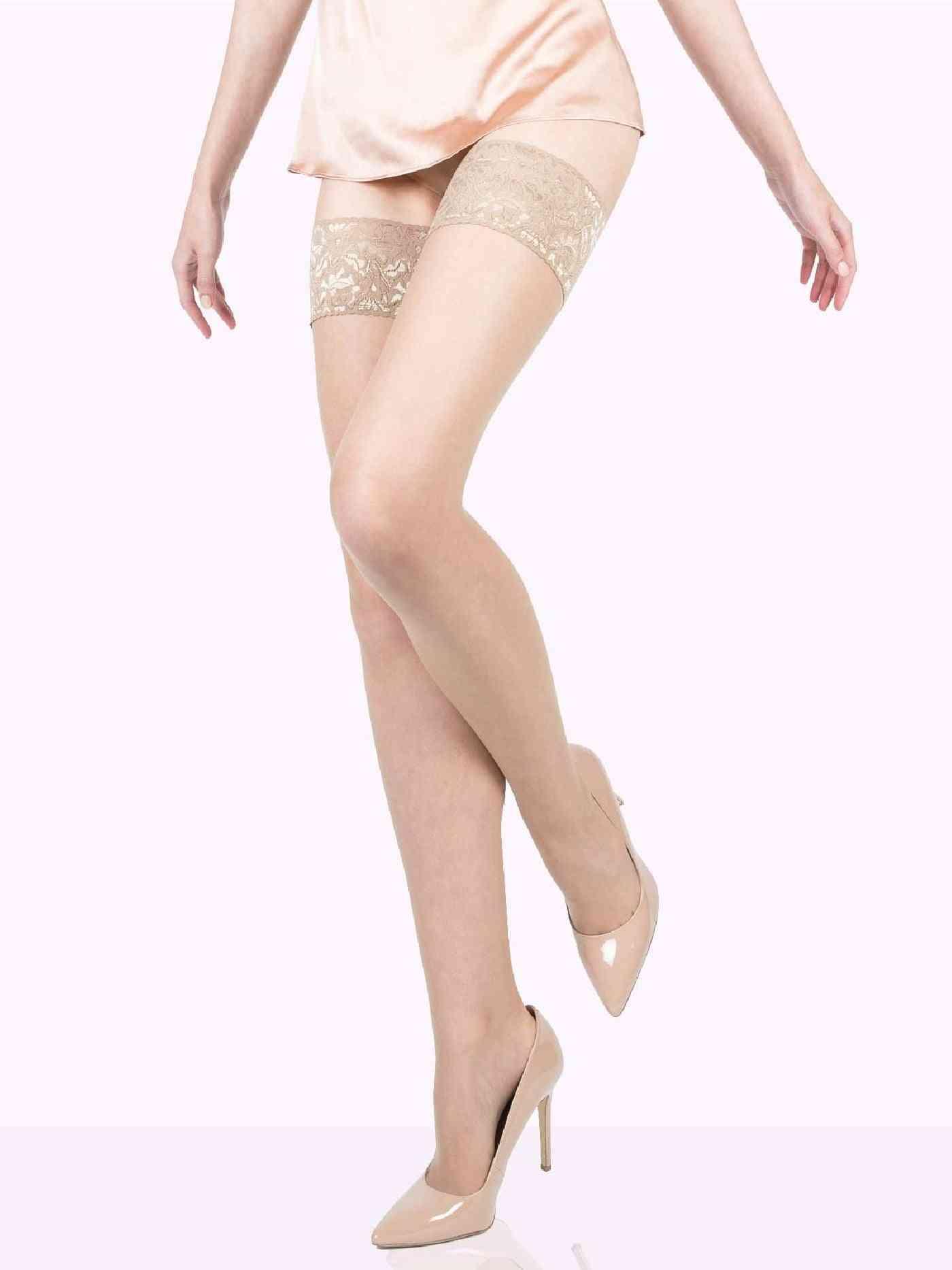 Sheer Stockings Thigh Highs