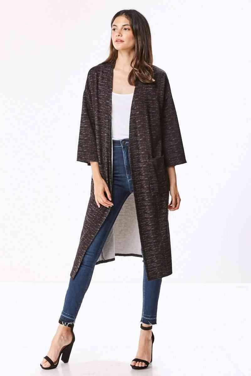 Knit Maxi Cardigan