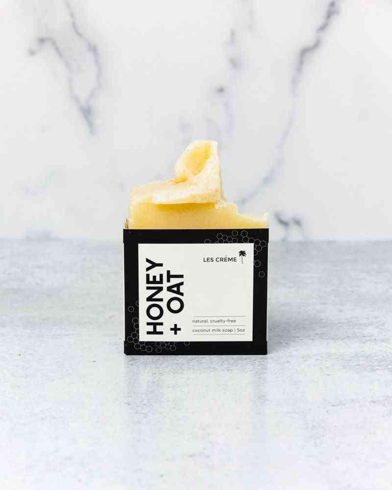 Honey + Oat Coconut Milk Soap