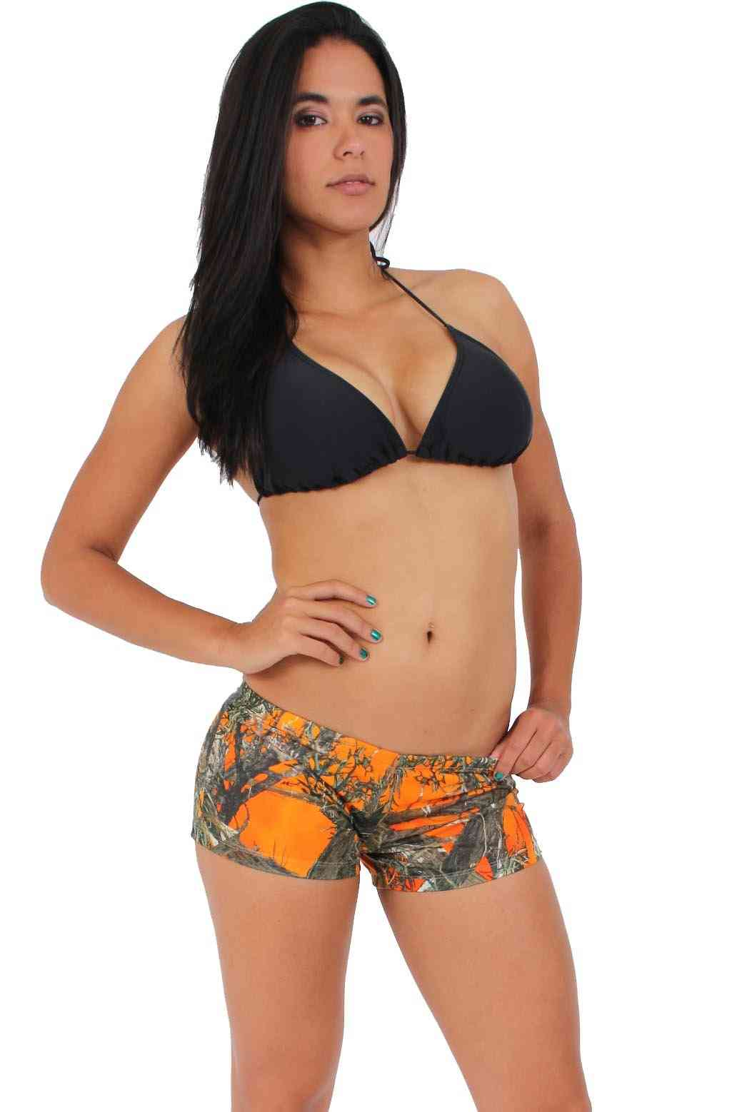 Authentic True Timber Orange Shorts