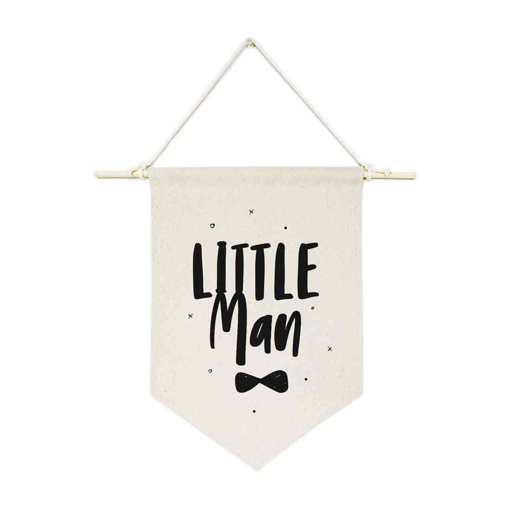 Little Mom-hanging Wall Banner