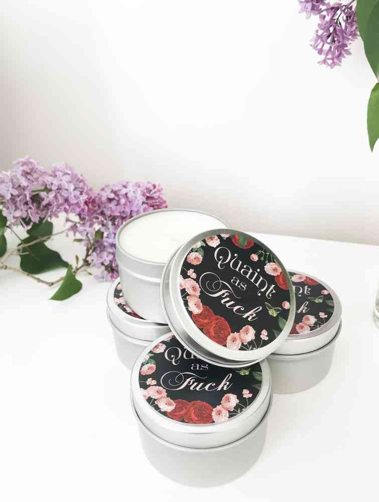 Scented With Warm Cinnamon Candle
