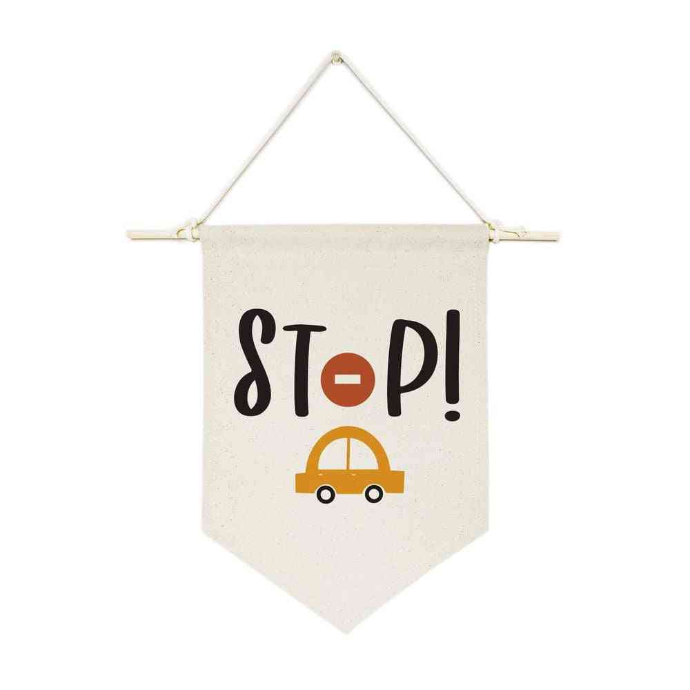 Stop-hanging Wall Banner