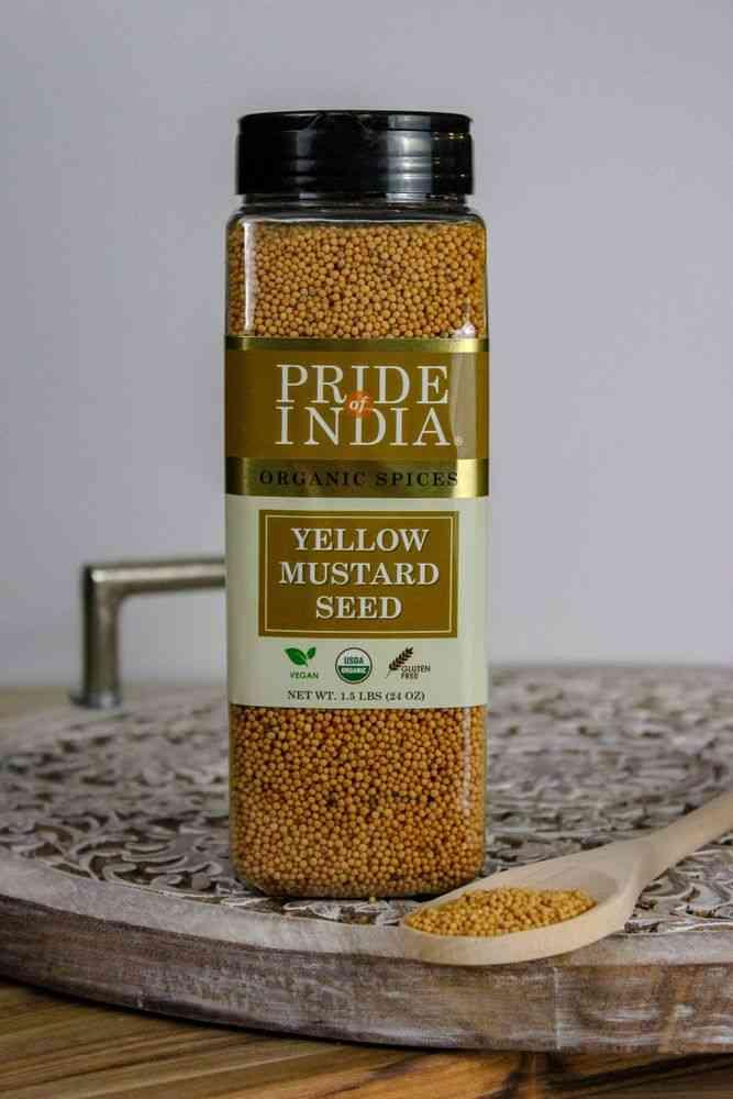 Organic Yellow Mustard Seed Whole