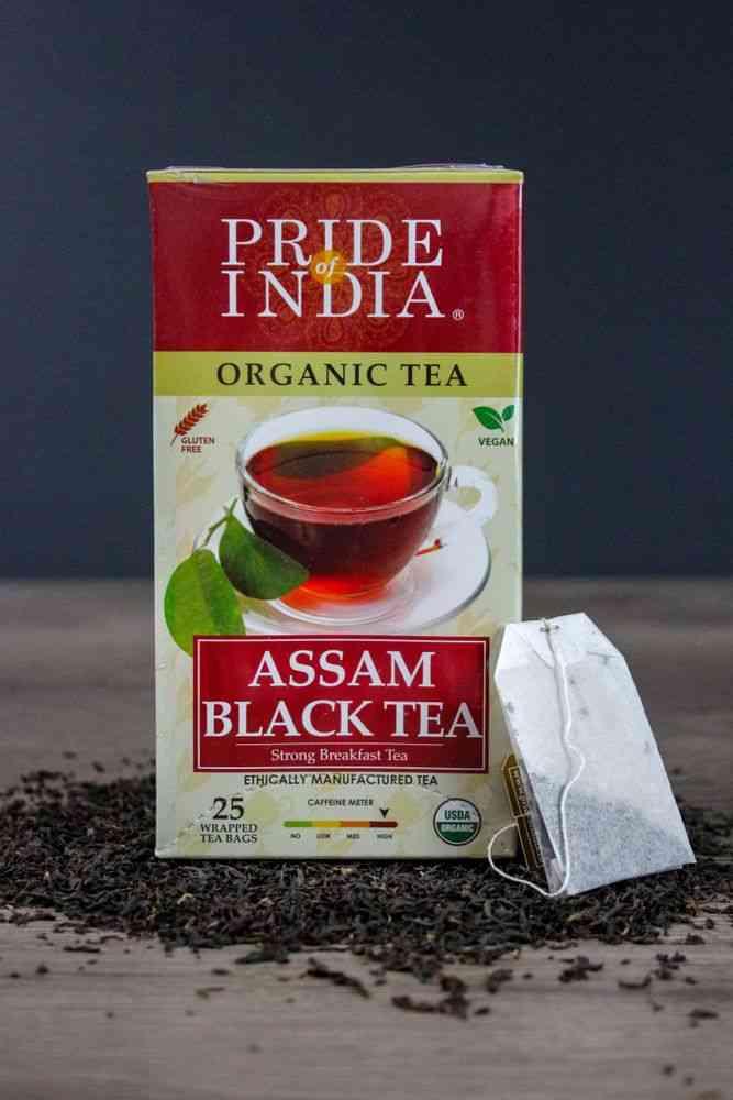 Organic Assam Breakfast Black Tea Bags