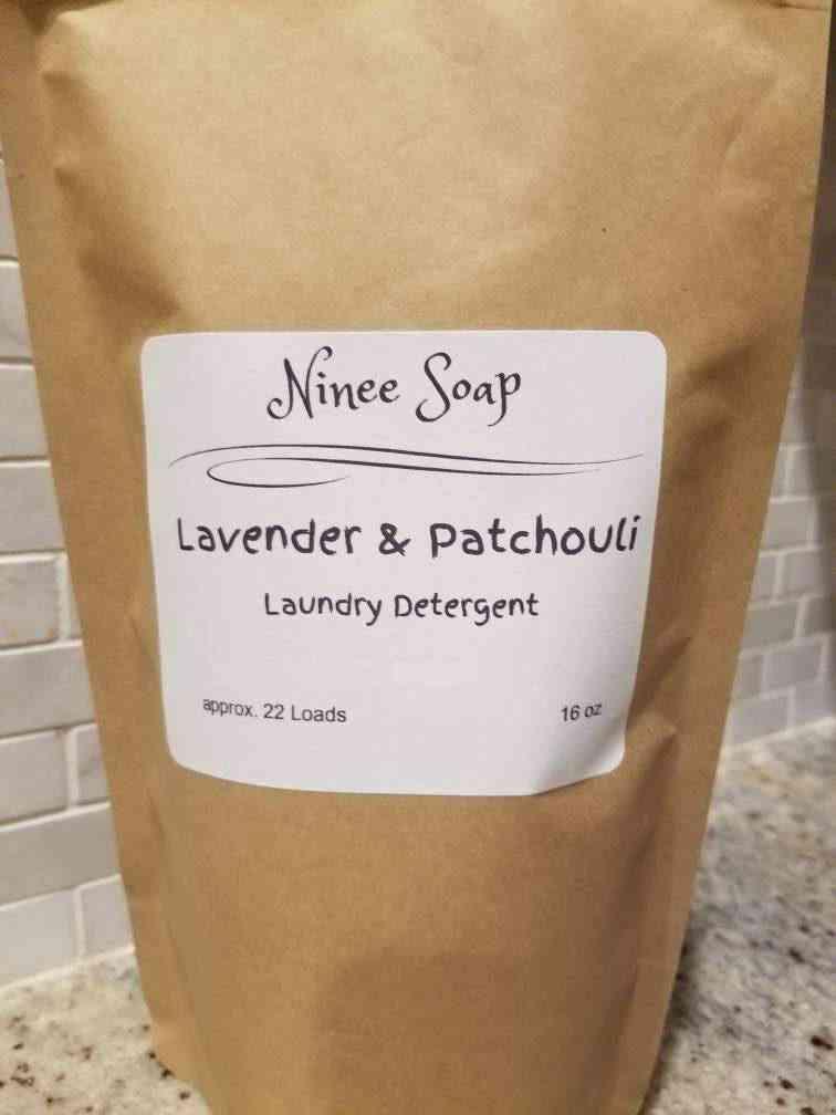 Lavender And Patchouli Laundry Detergent