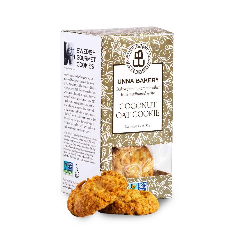 Coconut Oat Cookies 3.4 Oz