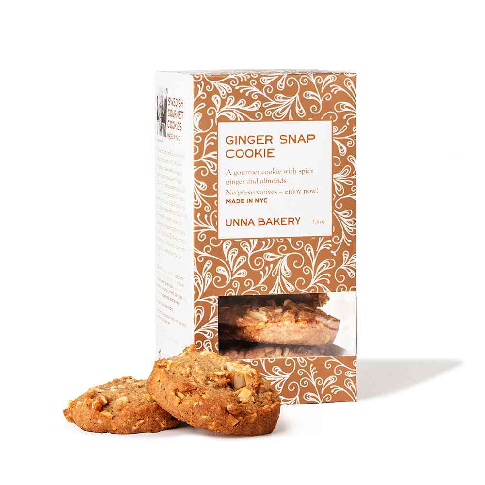 Crispy, Spicy Nutty Ginger Snaps-cookies