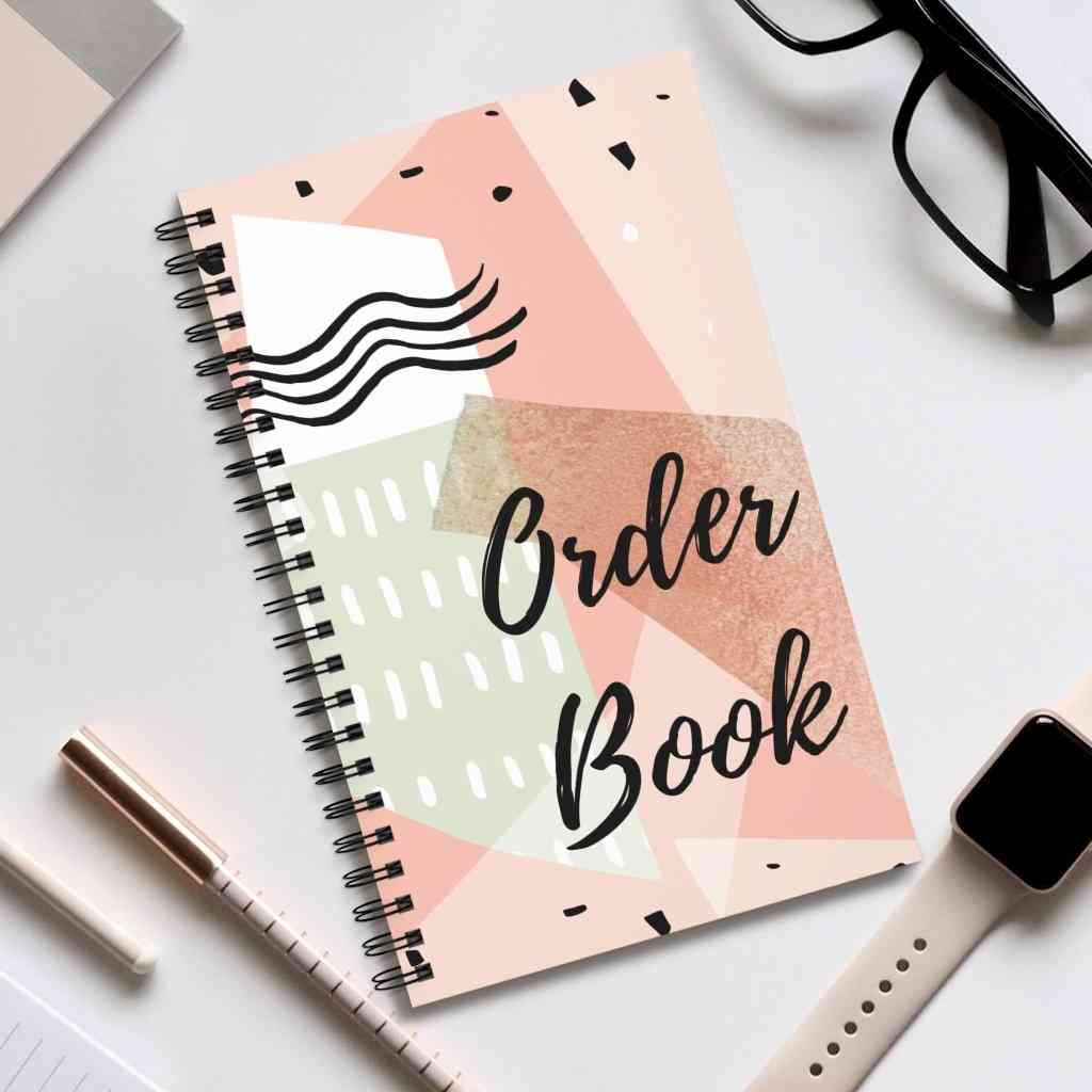 100 Pages A5 Order Book
