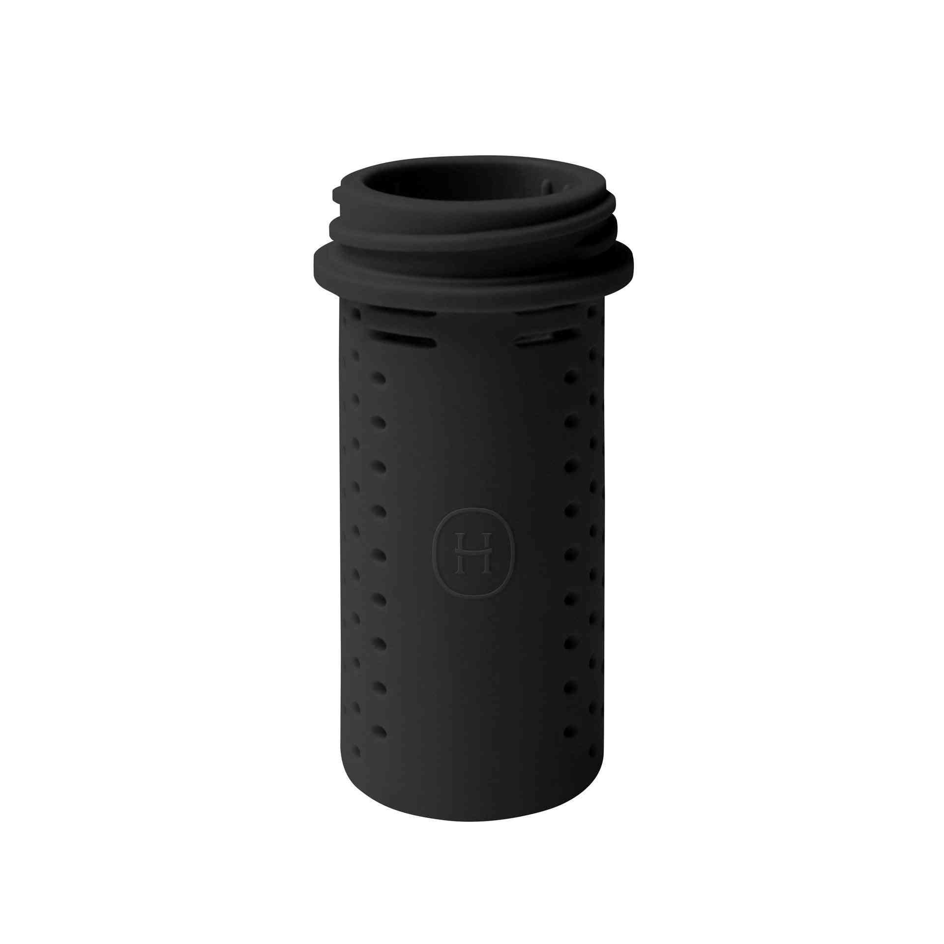 Black Bottle Shaped Silicone Tea Infuser