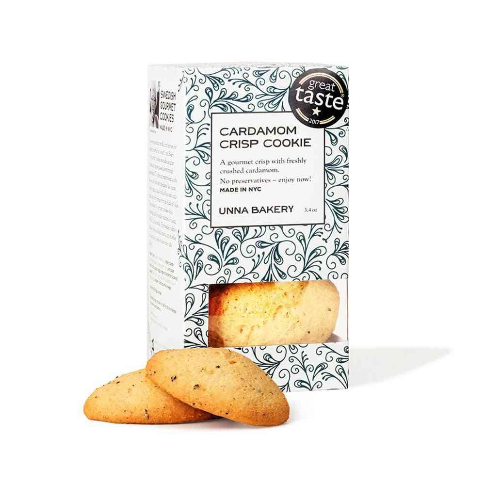 Cardamom Crisp Cookies