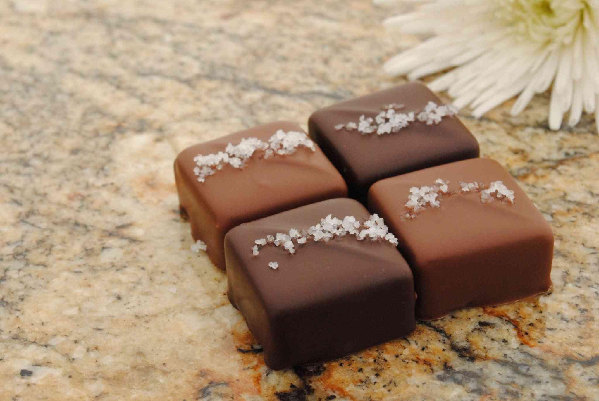 Sea Salt Caramel- Milk And Dark Chocolate