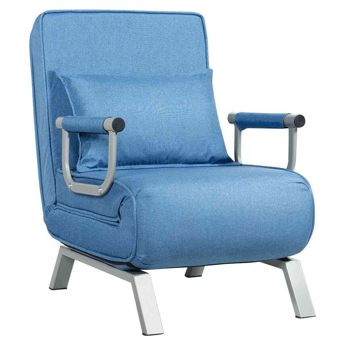 Folding And Convertible Sleeper Armchair-lounge Couch