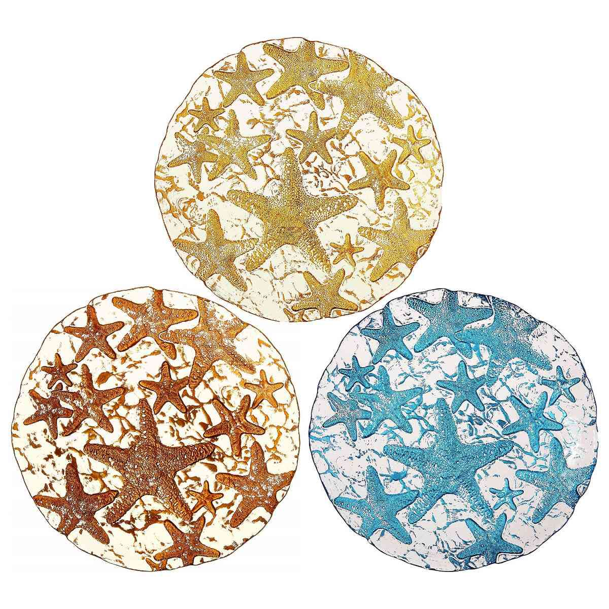 Decorative Art Side Plates