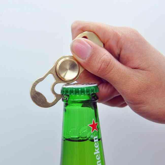 Hand Duo-spinner Bottle Opener