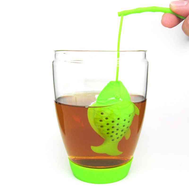 Food Grade Silicon Fishing Tea Infuser