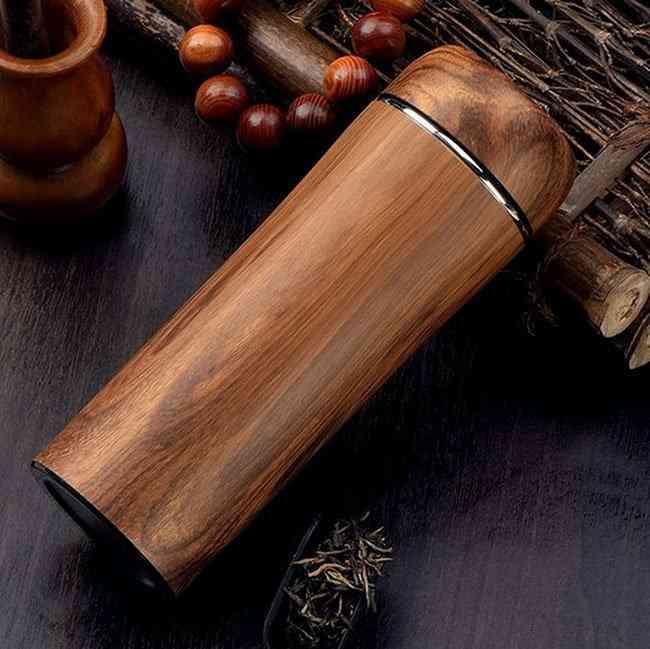 Wooden Violet Arenaceous Tea Cups