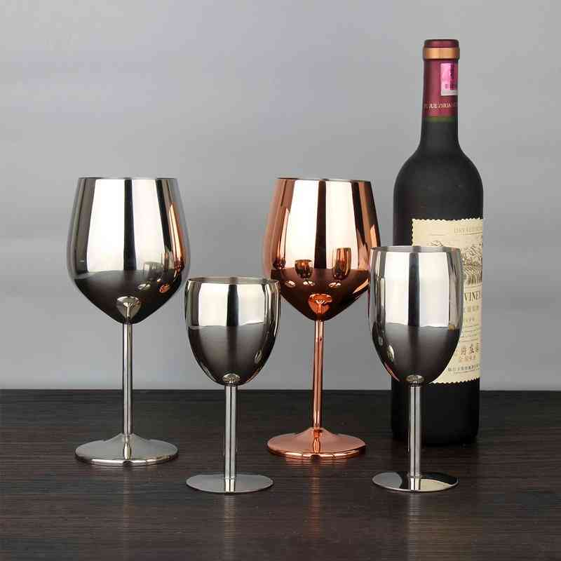 Stainless Steel Wine Glass